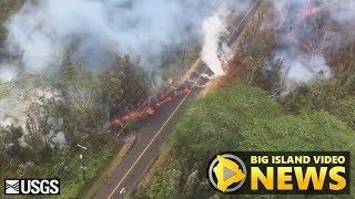Hawaii Volcano Eruption Update - Tuesday Night (May 8, 2018)