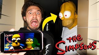 DONT WATCH THE SIMPSONS VIDEOS AT 3AM OR HOMER SIMPSON WILL APPEAR! | HOMER SIMPSON CAME TO MY HOUSE