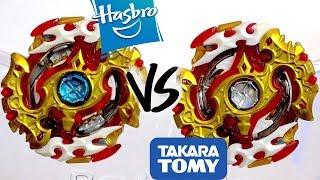 HASBRO VS TAKARA TOMY: Spriggan Requiem .0.Zt VS Spryzen Requiem S3 .0.Zt - Beyblade Burst God