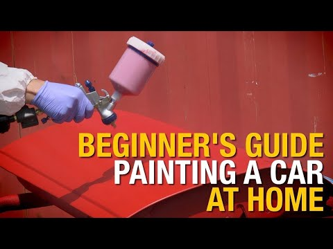 Beginner's Guide: How To Paint A Car At Home In 4 Easy Steps - Eastwood
