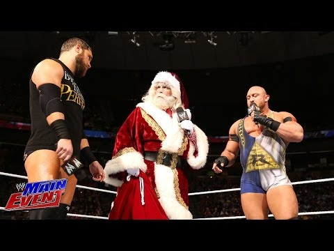 Ryback & Curtis Axel Confront Santa Claus: WWE Main Event, Dec. 18, 2013 - Smashpipe Sports