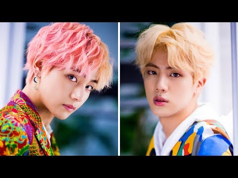 Don't fall in love with TAEJIN (뷔&진 BTS) Challenge!
