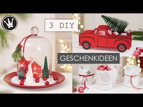 3 DIY GESCHENKIDEEN für WEIHNACHTEN | Geschenke selbermachen | Geschenke verpacken | DekoideenReich