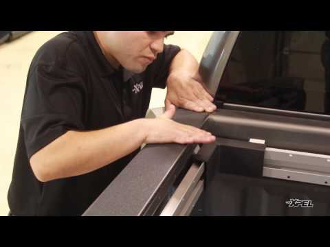 XPEL Bed Rail Guard Black - DIY