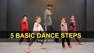 Dance Tutorial for 3 to 7 years Kids | 5 Basic Steps | Deepak Tulsyan | G M Dance