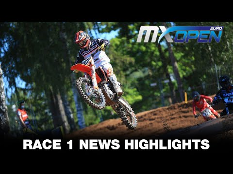 EMX OPEN and EMX250 Race 1&2 News Highlights - MXGP of Latvia