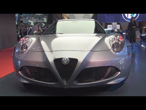 Alfa Romeo 4C Standard Edition 1750 Tbi 240 hp (2017) Exterior and Interior in 3D