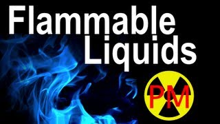 Flammable Liquids with Prepared Man