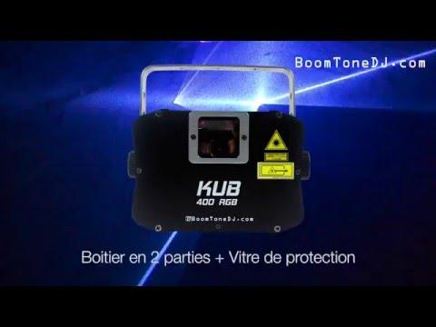 Vidéo BoomToneDJ - KUB 400 RGB
