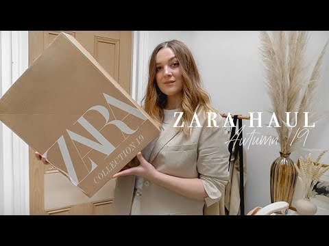 ZARA AUTUMN HAUL & TRY ON | I Covet Thee