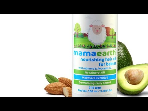 video Mamaearth Nourishing Hair Oil for Babies Review<span class=