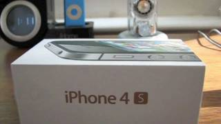 Black iPhone 4S Unboxing and Setup (HD)