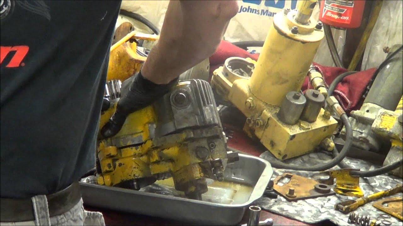5 22 13 Cub Cadet 129 Hydrostatic Pump Repair Assessment