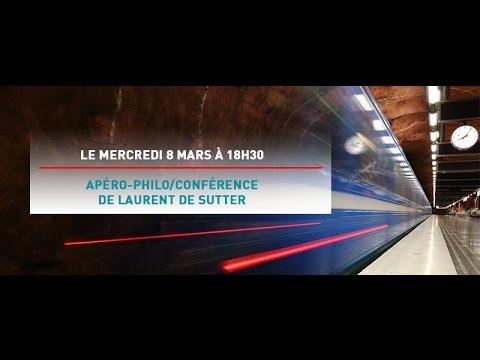 08.03.2017 - Conférence Laurent De Sutter - Flash ! Accélerer les images ! @ Mundaneum