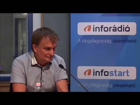 InfoRádió - Aréna - Tamasi József - 2. rész - 2019.08.16.