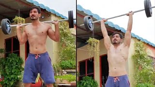 Bigg Boss fame Ali Reza lockdown workout..