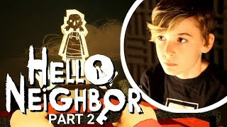 10 Year Old Canadian YouTuber | Mikey plays Hello Neighbor (PS4) part 2 of 3