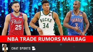 NBA Trade Rumors: Giannis Trade? Warriors Trading #2 Pick? Chris Paul For Ben Simmons? | Mailbag