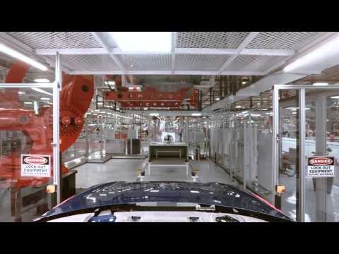 Travel down the Model S production line