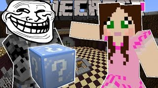 Minecraft: CHRISTMAS TROLLING GAMES - Lucky Block Mod - Modded Mini-Game