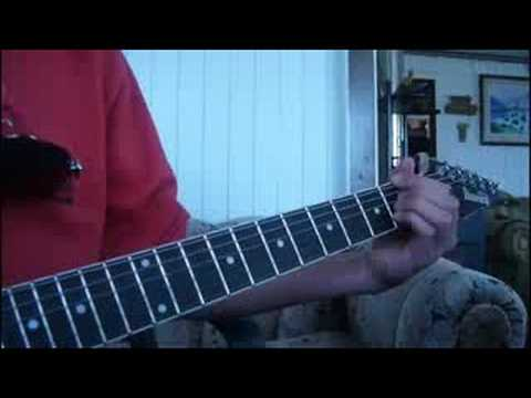Eres Todopoderoso Rojo Intro Estrofa y Solo Guitarra