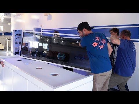Vlog 25: Getting the 400 Gallon Planet Aquarium in Place