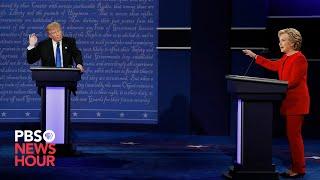 Clinton vs. Trump: The first 2016 presidential debate