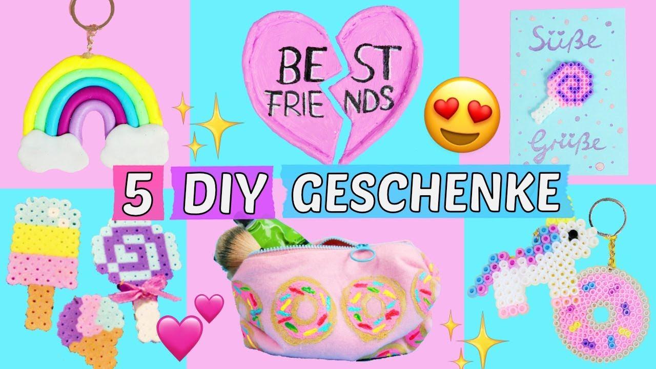5 Süße Diy Geschenke Für Freundin Bff Mama Selber Machen Geschenkideen Günstig Basteln