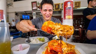 Huge DEEP FRIED River Shrimp - Thai Food at Legendary Kui Mong (กุ่ยหมง) Restaurant!