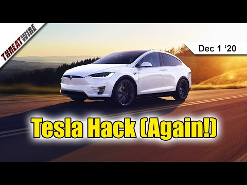Teslas Can Be Hacked (Again!), RCS Messages + E2EE Coming 2021 Via Google - ThreatWire