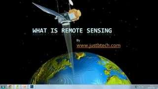 Introduction to Remote Sensing   Definition  Lecture 01