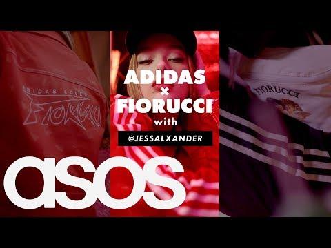 asos.com & Asos Discount Code video: Jess Alexander tries on the new adidas x Fiorucci collab ❤️
