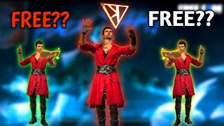 Free Fire New Character K Free??😮 - Garena Free Fire