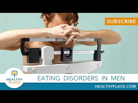 What's It Like Being a Male with an Eating Disorder?