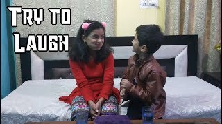 😁Try to Laugh😁 || Challenge || Fun with Tanishka ||