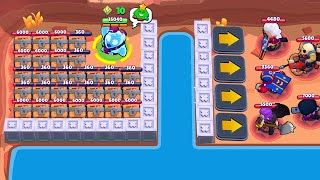 *WOW* HACKED MAP VS UNLUCKY! | Brawl Stars Funny Moments & Glitches & Fails #398