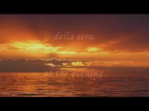 Andrea Bocelli - Il Mare Calmo Della Sera (English lyrics translation)