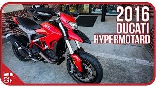 2016 Ducati Hypermotard | First Ride