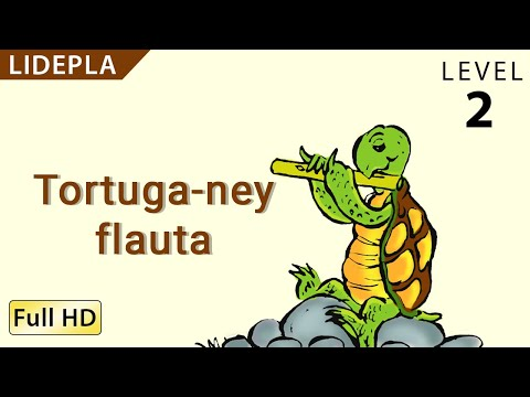 "Turtle's Flute: Learn Lidepla with subtitles - Story for Children ""BookBox.com"""