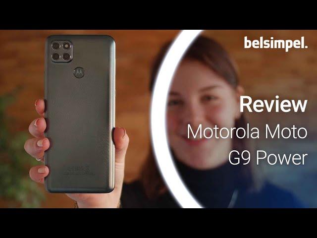 Belsimpel-productvideo voor de Motorola Moto G9 Power