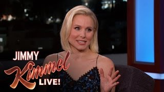 Kristen Bell LOVES Peter Dinklage