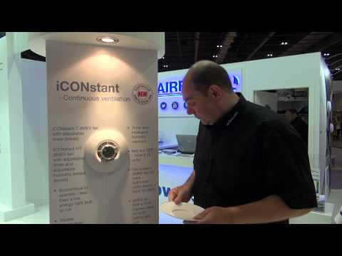 Airflow Ventilation Product - The iCONstant fan