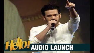 Akhil Akkineni's Emotional Speech At HELLO! Audio Launch- ..