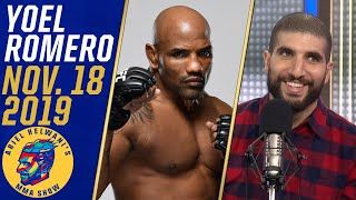 Yoel Romero is ready to fight Israel Adesanya: 'Give me the contract' | Ariel Helwani's MMA Show