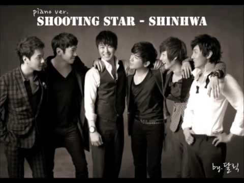 Shinhwa - Shooting Star (piano ver.)