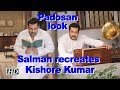 Salman recreates Kishore Kumar's 'Padosan' look- BIGG BOSS..