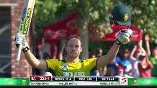David Miller - Fastest T20 Century of all time vs Bangladesh