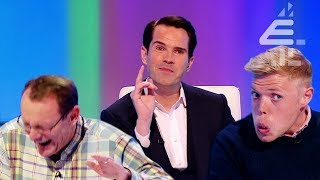 Jimmy Carr's Freaked Out By Sean Lock's Closeness?! | 8 Out of 10 Cats | Best of Jimmy Series 17