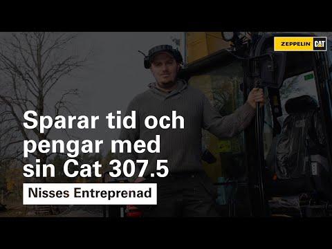 Nisses Entreprenad - Sparar tid och pengar med sin Cat 307.5