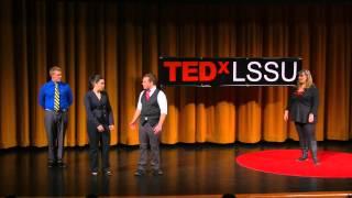 Improv comedy will change the world | Jennifer Hunter | TEDxLSSU